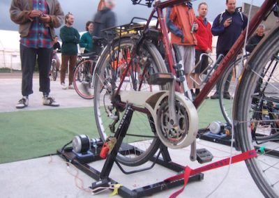 Cycle-Powered Cinema
