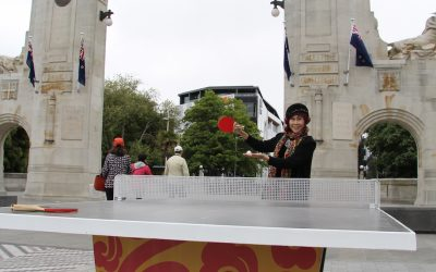 Ping Pong in the city!