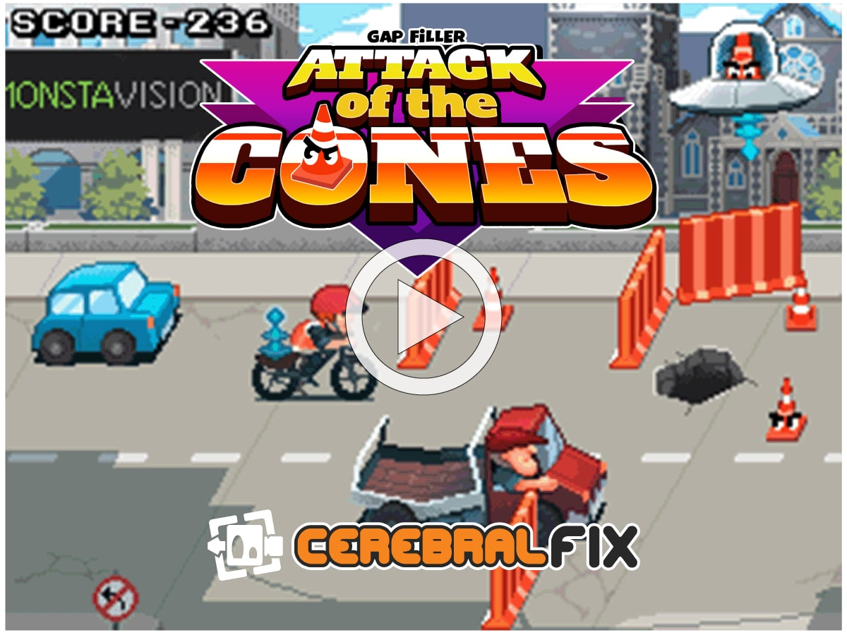 Play Attack of the Cones